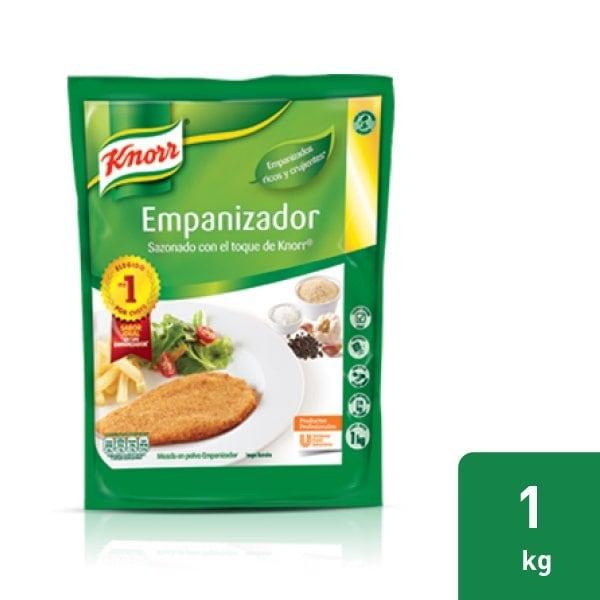 Knorr® Empanizador - Empaniza tus carnes o vegetales rápidamente con la calidad que solo Knorr Empanizador puede ofrecerte. Úsalo para ahorrar tiempo en la cocina de tu restaurante.