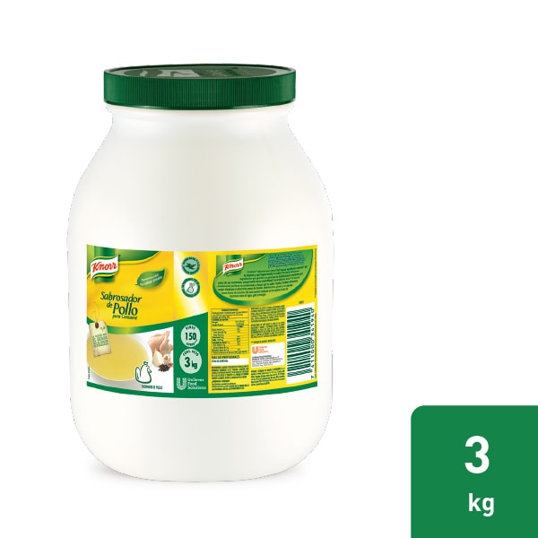 Knorr® Sabrosador de Pollo - Reduce tus tiempos operativos con marinados más rápidos y caldos estandarizados, usando Knorr® Sabrosador de Pollo en tu restaurante.