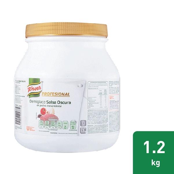 Knorr® Salsa Demiglace Profesional - Knorr® Demiglace es la mejor opción para su cocina ya que le ayudará a estandarizar los procesos y a minimizar tiempos de cocción.