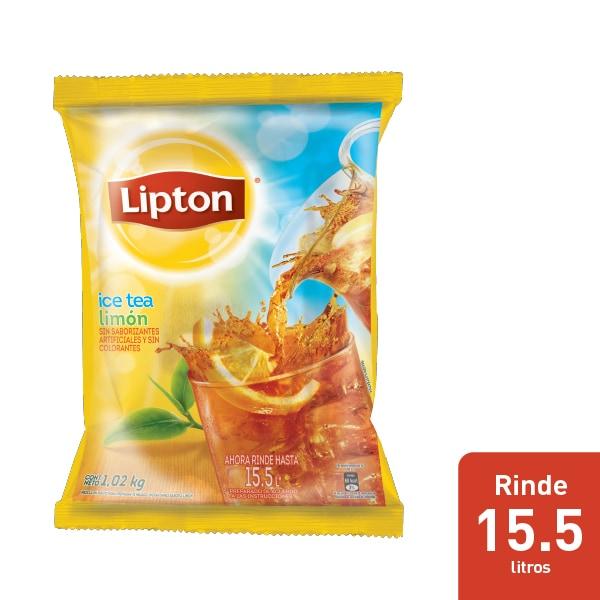 Lipton® Ice Tea Sabor Limon - Ofrece frescura a tus comensales con Lipton® Ice Tea Sabor Limón. Cada sobre rinde hasta 15.5 litros y solo necesita agua para prepararse.