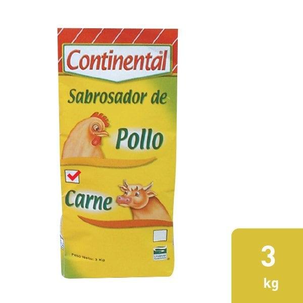Continental® Sabrosador con Sabor a Pollo 6X3kg -